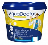 Таблетки для бассейна 3 в 1  AquaDoctor® MC-Т -1 кг.